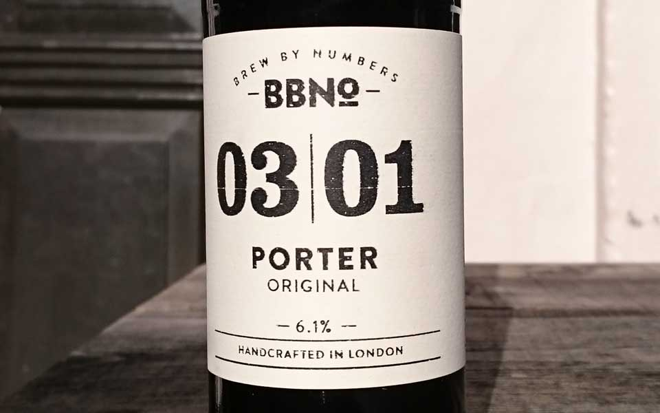 Brew By Numbers 03/01 Porter – Original