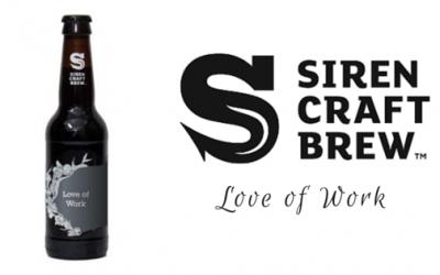 Siren Craft Brew's Love of Work
