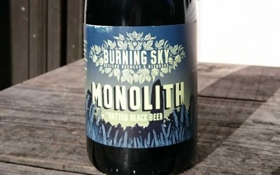 Burning Sky Monolith Vatted Black Beer