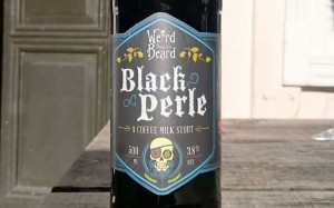 Weird Beard Black Perle Beer
