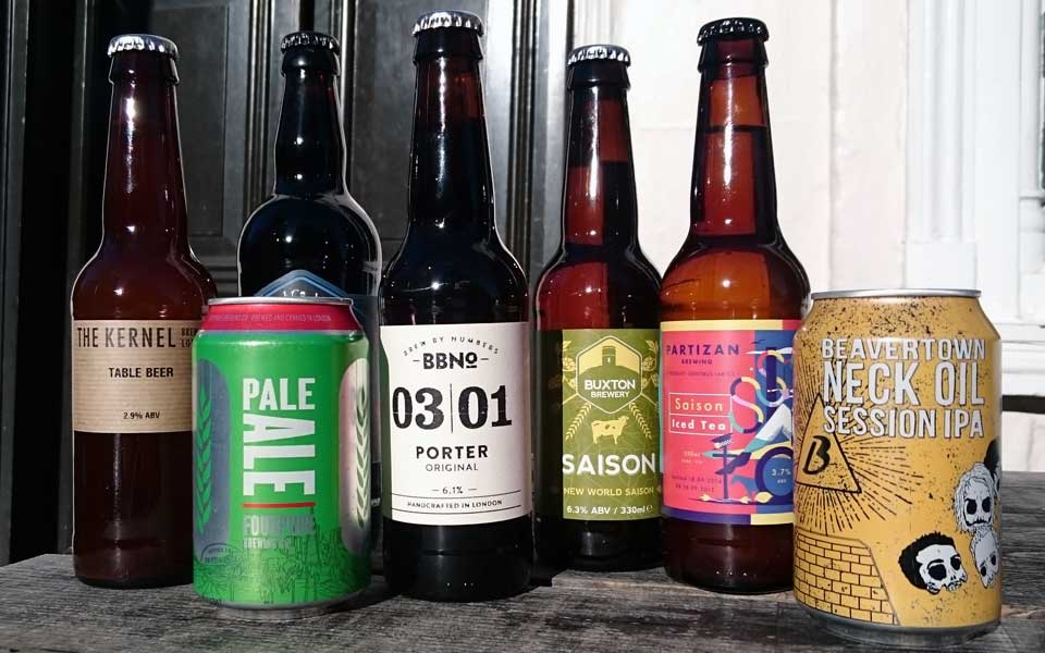 A Previous Lock Box Beer Selection
