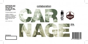 Buxton T0 Øl Collateral Carnage beer