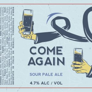 Come Again Sour Pale Ale from Buxton Brewery