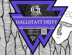 Celt Hallstatt Deity Pomegranate Fruit Saison beer
