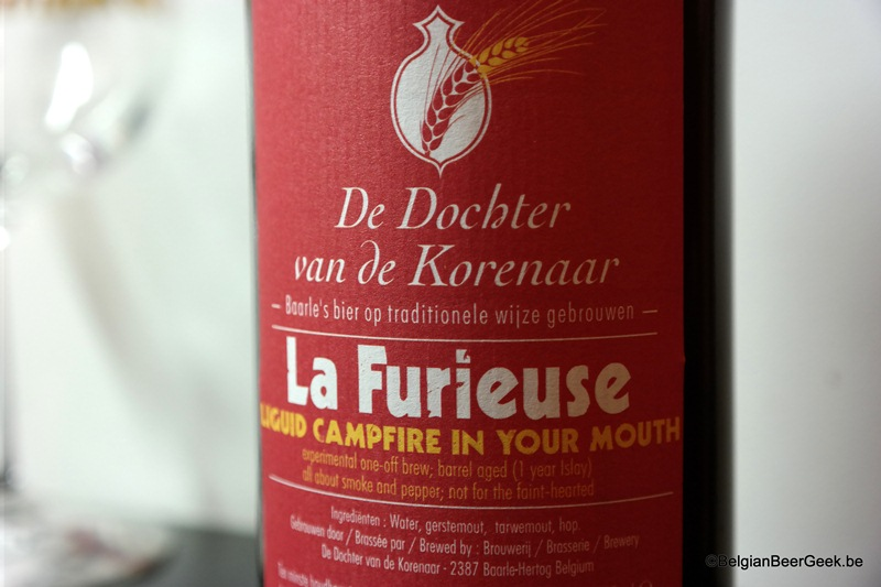 La Furieuse Smoke Beer
